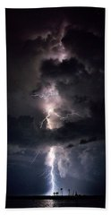 Lightning Beach Sheet by Richard Zentner