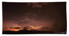 Lightning Streaks  Beach Sheet