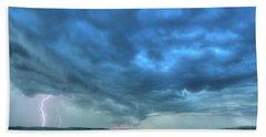Lightning Strike Beach Sheet