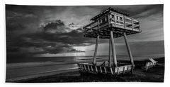 Lightning Watch Tower Beach Towel