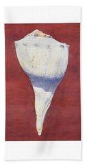 Lightning Whelk Conch II Beach Towel
