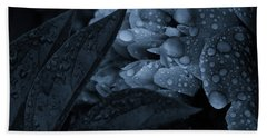 Lights Off Sparkle On Beach Towel