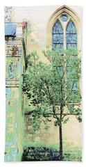 Like A Prayer Beach Sheet by Ann Johndro-Collins