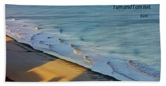 Beach Towel featuring the photograph Like A Shadow by Rhonda McDougall