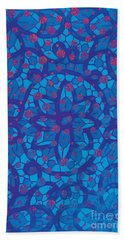 Beach Towel featuring the photograph Like A Stained Glass Window by Nareeta Martin