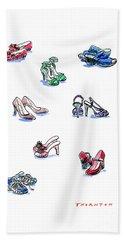 L'il Shoes Beach Towel
