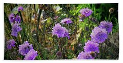 Lilac Carved Jellytot Beach Sheet