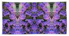 Lilac Design  Beach Sheet