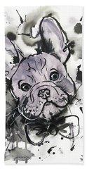 Lilac Frenchie Beach Sheet
