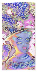 Beach Sheet featuring the photograph Lilac by Karen Newell