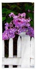 Lilacs - Mother's Day 1 Beach Sheet