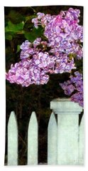 Lilacs - Mother's Day 2 Beach Towel