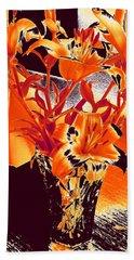 Lilies #2 Beach Sheet