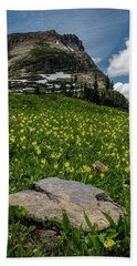 Lilies Of The Field Beach Towel by Annette Berglund
