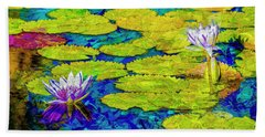 Beach Towel featuring the photograph Lilly by Paul Wear