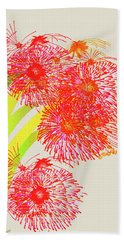 Beach Towel featuring the digital art Lilly Pilly by Asok Mukhopadhyay