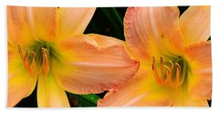 Lily Duo Beach Towel