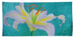 Lily Beach Towel