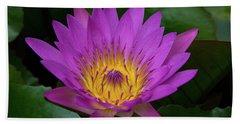 Lily Flower Beach Sheet