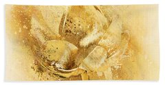Beach Sheet featuring the digital art Lily My Lovely - S114sqc75v2 by Variance Collections