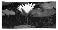 Lily Of The Lake Beach Towel