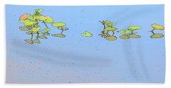 Lily Pad Glow Beach Sheet