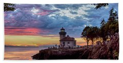 Lime Kiln Lighthouse Beach Towel