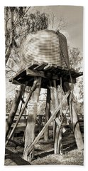 Beach Towel featuring the photograph Limited Water Supply by Linda Lees