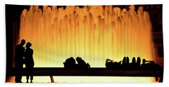 Lincoln Center Fountain Beach Towel