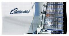 Lincoln Continental Mark Iv Head Light -0149c Beach Towel