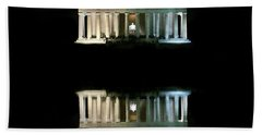 Beach Sheet featuring the photograph Lincoln Memorial by Lorella Schoales