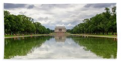 Lincoln Memorial Beach Towel