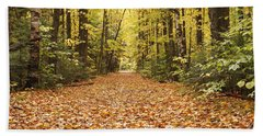 Lincoln Woods Trail  - White Mountains New Hampshire Beach Towel