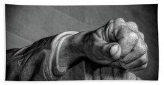 Lincoln's Left Hand B-w Beach Sheet