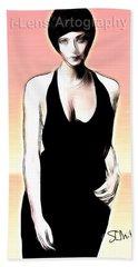 Linda Thorson Beach Sheet