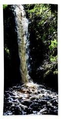 Linhope Spout Waterfall Beach Towel