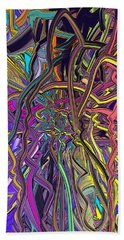 Line Abstract Beach Towel
