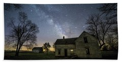 Beach Towel featuring the photograph Linear by Aaron J Groen