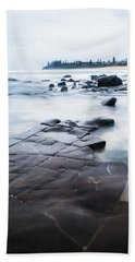 Beach Towel featuring the photograph Lines In The Rocks by Parker Cunningham