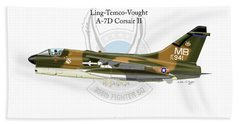 Ling-temco-vaught A-7d Corsair Beach Sheet