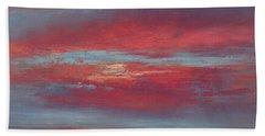 Lingering Heat Beach Towel by Valerie Travers