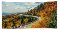 Linn Cove Viaduct Beach Towel