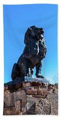 Lion Guard - San Xavier Mission Tucson Arizona Beach Towel