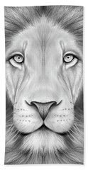 Lion Head Beach Towel