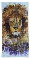 Lion Head Beach Towel
