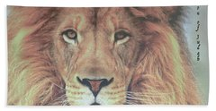 Lion Of Judah  Beach Sheet