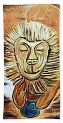 Lion Of Judah II Beach Sheet