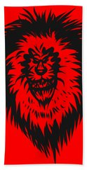 Lion Roar Beach Towel