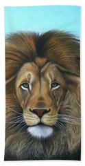 Lion - The Majesty Beach Towel