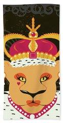 Lioness Queen Beach Sheet